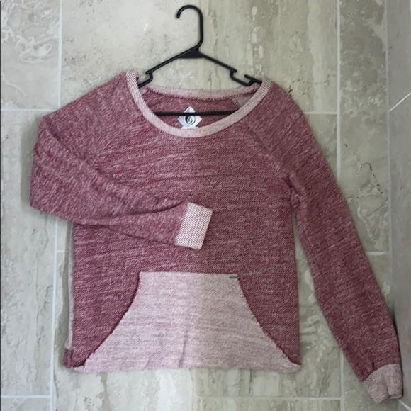 Volcom scoop neck sweater